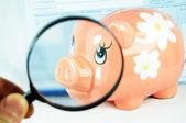Verhoging van de besparingen — Stockfoto