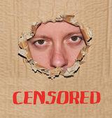 Censorship — Stock Photo