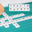 Health and safety — Stock Photo