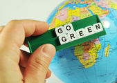 Go green! — Stock Photo