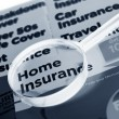 Royalty-Free Stock Photo: Home insurance