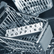 图库照片: Internet shopping