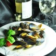 Mussels dish — Stock Photo