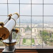 Eiffel Tower observatory — Stock Photo
