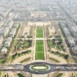 Paris seen from Eiffel Tower — Stock Photo #6639694