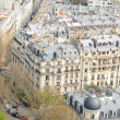 Roofs of Paris - 图库照片