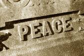 Concept de paix — Photo