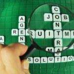 Focus on jobs — Stock Photo