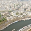 Stock Photo: The river Seine across Paris