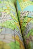 Maps detail — Stock Photo