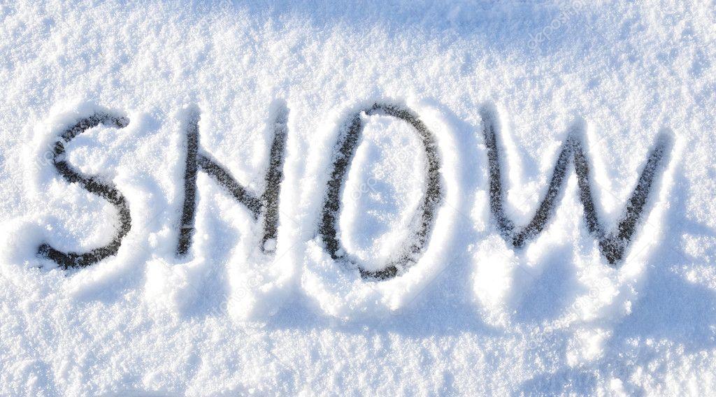Snow background — Stock Photo © lucianmilasan #6673695