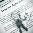 Stock Photo: Tenancy agreement