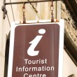 Tourist information centre - Stock Photo