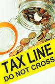 Tax fraud — Stock Photo