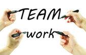 Teamwork — Stock Photo