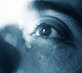 Sad eyes — Stock Photo