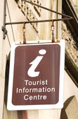 Tourist information centre — Stock Photo