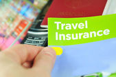 Travel insurance — Foto Stock