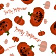 Helloween seamless pattern — Stock Vector
