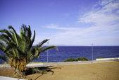 Aegean sea view — Stock Photo