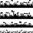 Royalty-Free Stock Vector Image: Crowd Collection 3