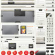 Web Design Kit - Vettoriali Stock 