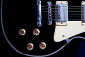 Electric guitar close-up — Stock Photo