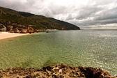 Beach in the National Park of Arrabida. — Stock Photo