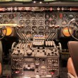 Aircraft Control Panel — Stock Photo