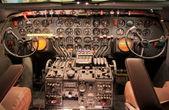 Aircraft Control Panel — Stock Photo