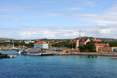 Port of Kralendijk - Dutch Antilles — Stock Photo