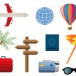 Travel and transportation icons — Stock Vector #5984905