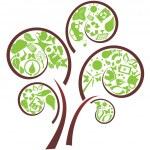 Green eco tree — Stock Vector #5985033