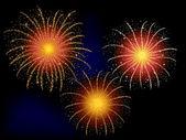 Fireworks for celebration — Stock Vector