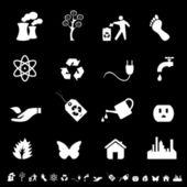 Environment and Eco Symbols — Stock Vector
