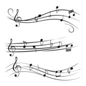 Music Notes — Stockvector