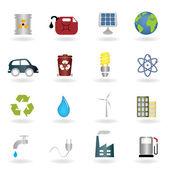 Environmental symbols — Vector de stock