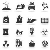 クリーンな環境のシンボル — ストックベクタ