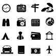 Travel and tourism icon set — Stock Photo