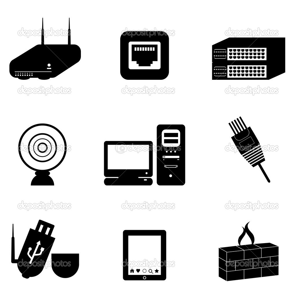 Computer Devices Clipart