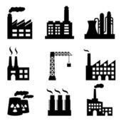 Industrial buildings — Stock Photo