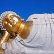 Statue of Buddha lying down — Stock Photo