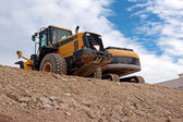 Bulldozers — Stock Photo