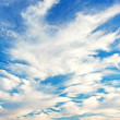 Stock Photo: Beautiful Blue Sky with clouds