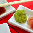 Japonese sushi sauce apetizer — Stock Photo