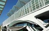 Centro de negócios da arquitetura moderna — Foto Stock