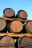 Wood casks — Stock Photo