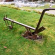 Agricultural plow - Stock Photo