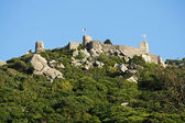 Moorish castle-Sintra — Stock Photo