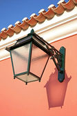 Traditional exterior lamp — Stock Photo